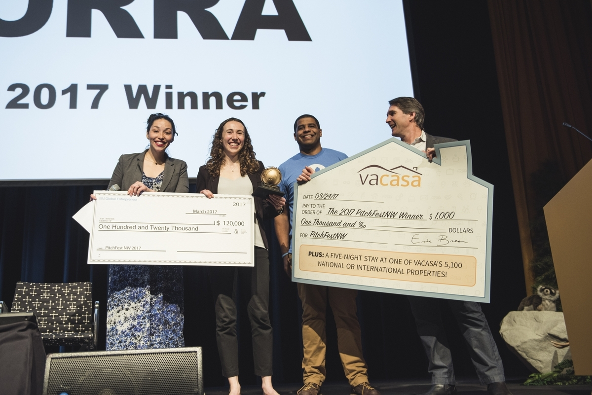 Madorra wins Pitchfest