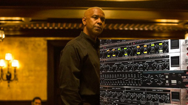 Denzel Washington and an Audio Equalizer