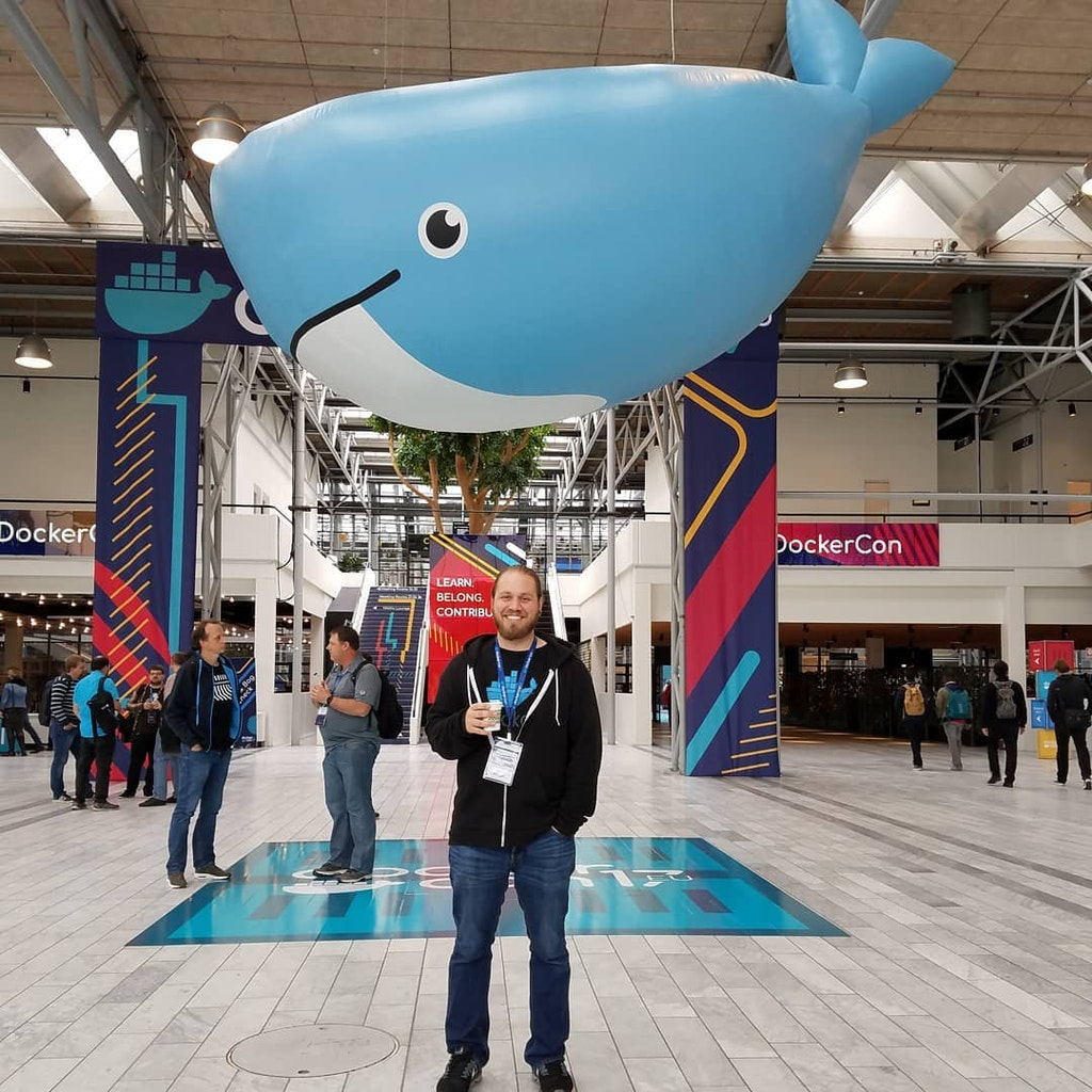 Technology Director Ben Kauffman at DockerCon